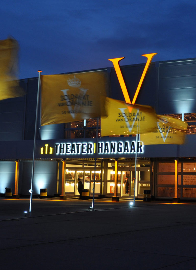 Theater hangaar Soldaat van Oranje