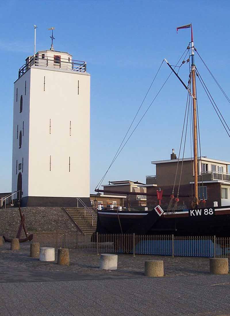 Lighthouse katwijk aan zee